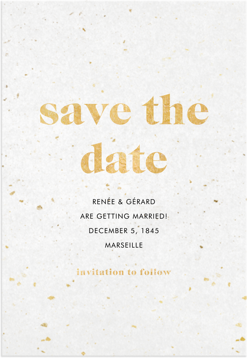 Vellum View - Paperless Post - Save the date
