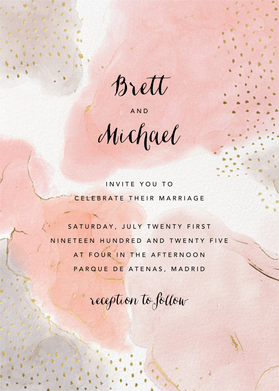 Ethereal Wash (Invitation) - Ashley G - All