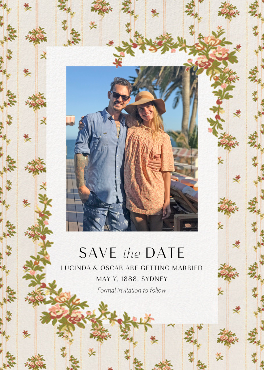 Charlotte Photo Save the Date - Brock Collection - Photo