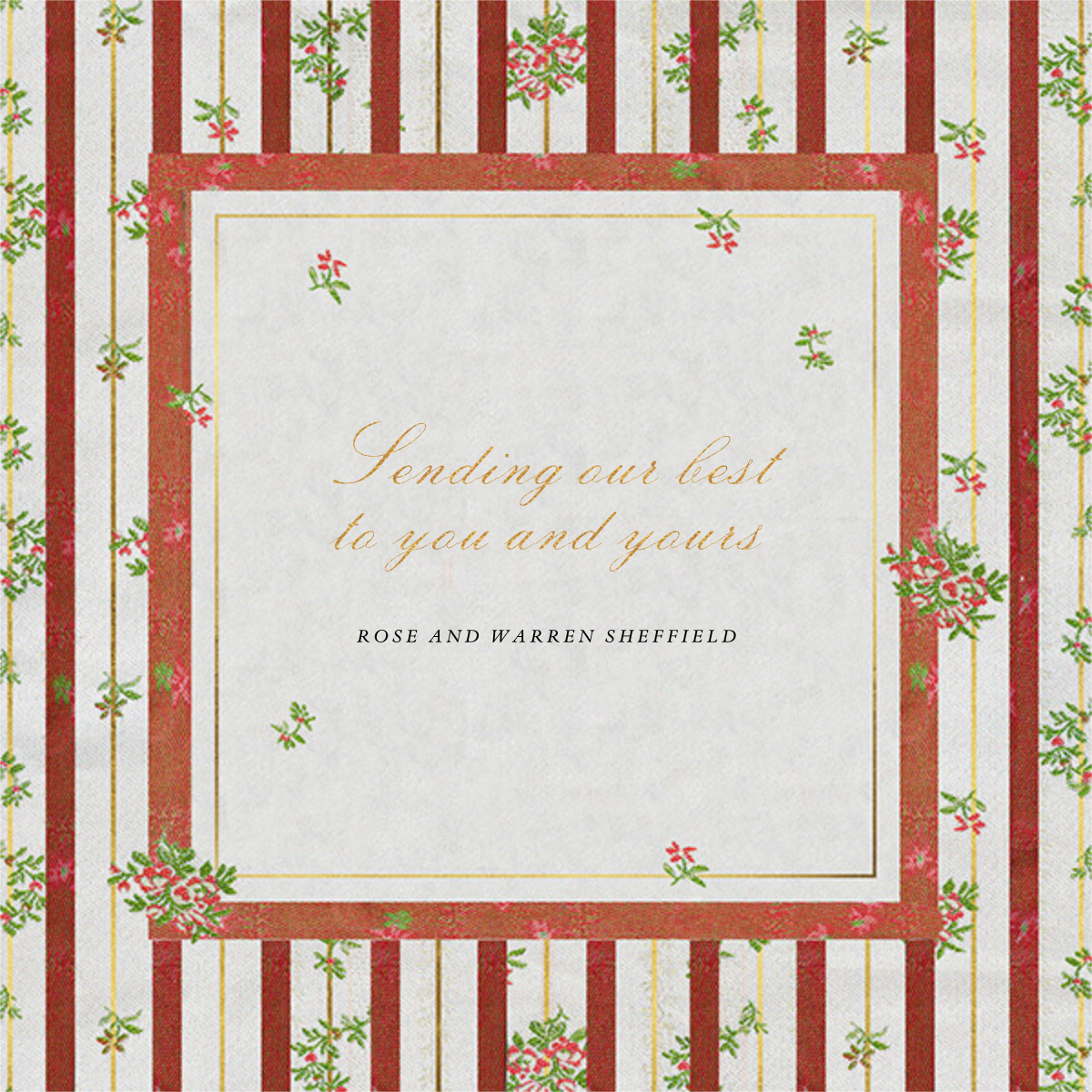 Cybele - Brock Collection - Holiday cards