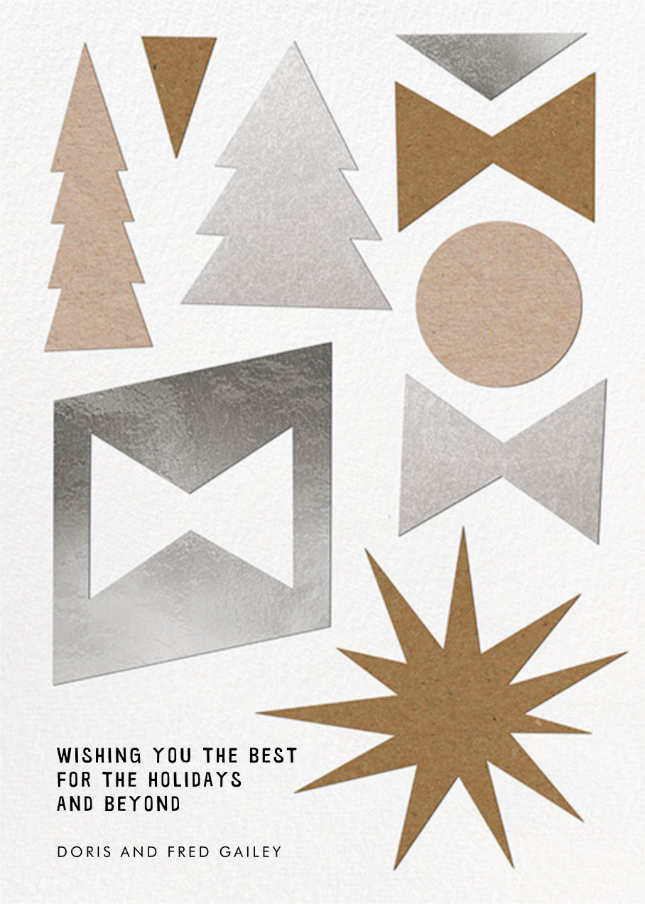 Simple Gifts - Paperless Post - Holiday cards