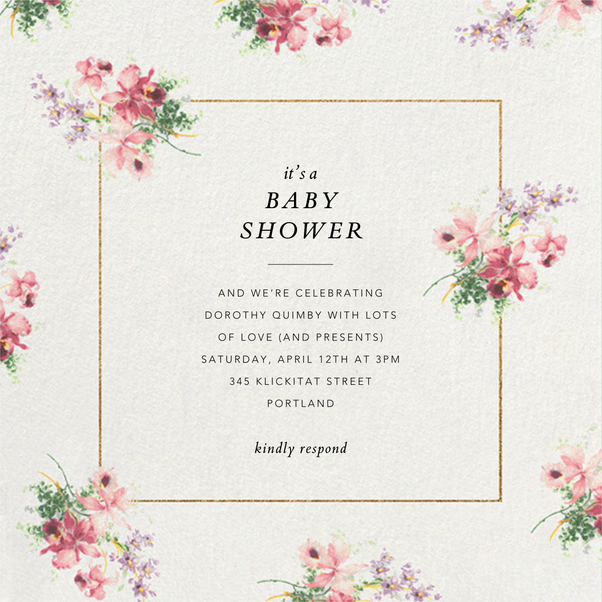 Kundry - Brock Collection - Baby shower
