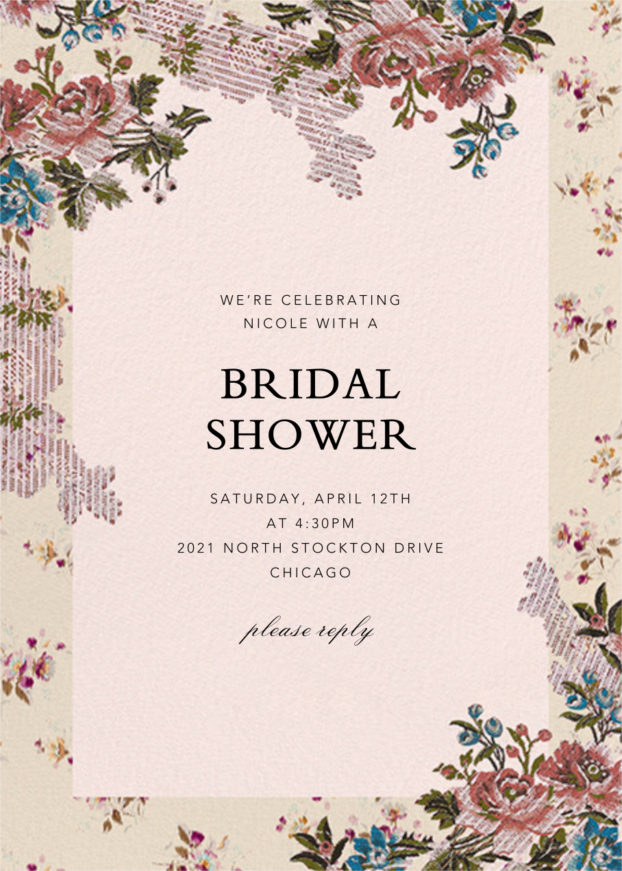 Manon - Brock Collection - Bridal shower