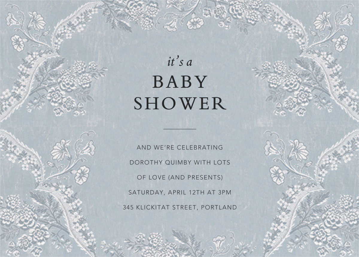 Paloma - Pacific - Brock Collection - Baby shower