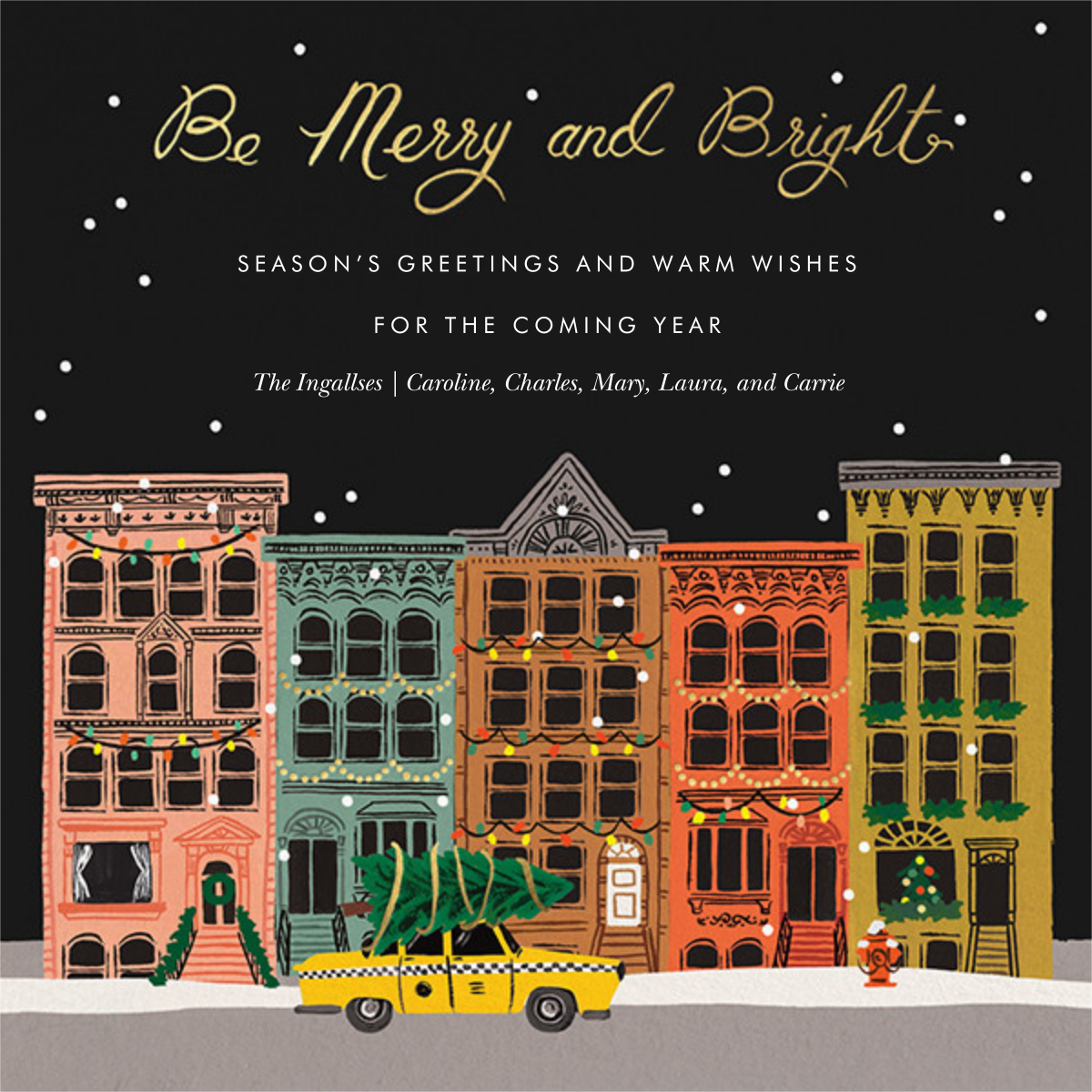 Holiday in the City - Rifle Paper Co. - Christmas