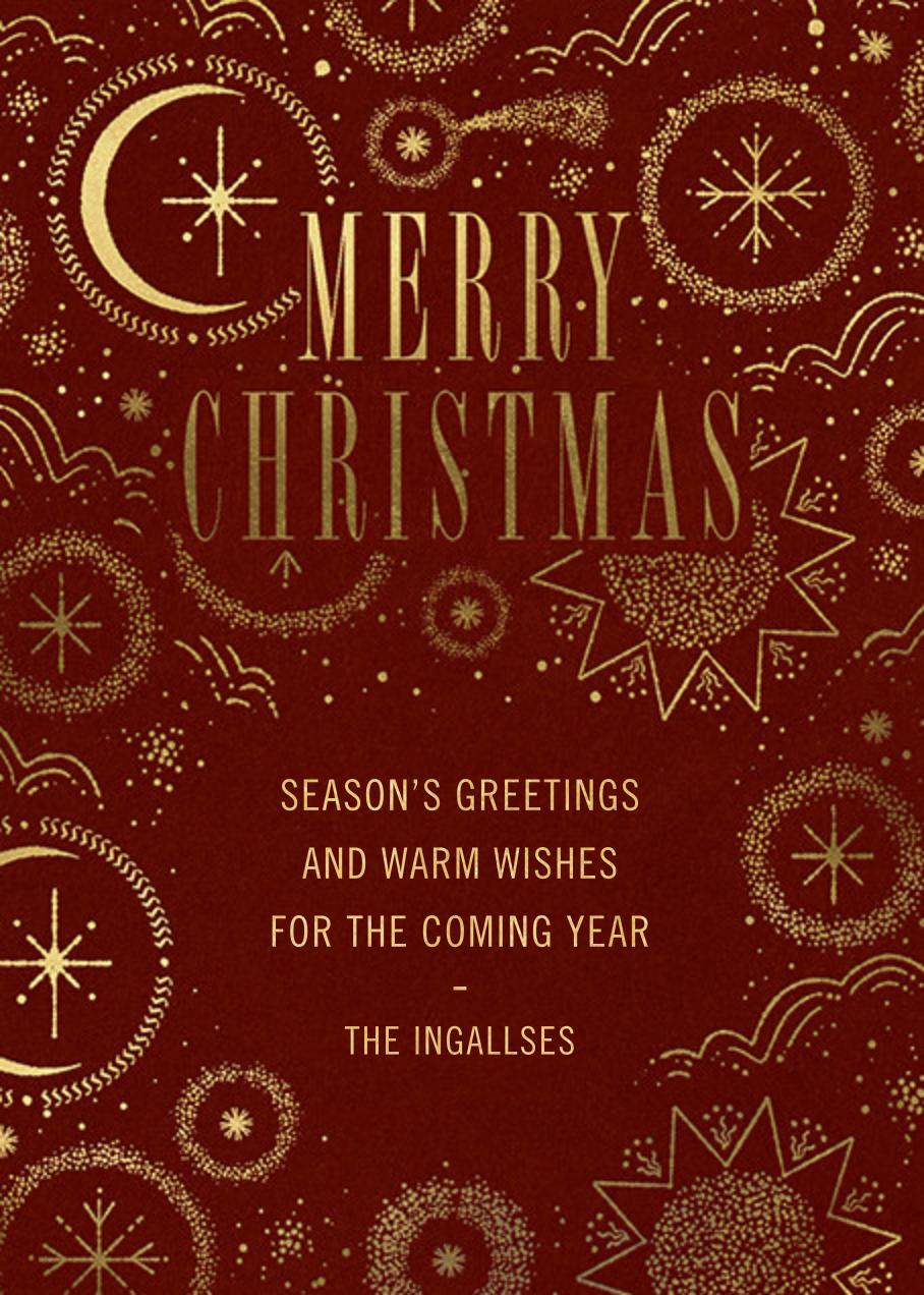 Guiding Stars - Paperless Post - Christmas