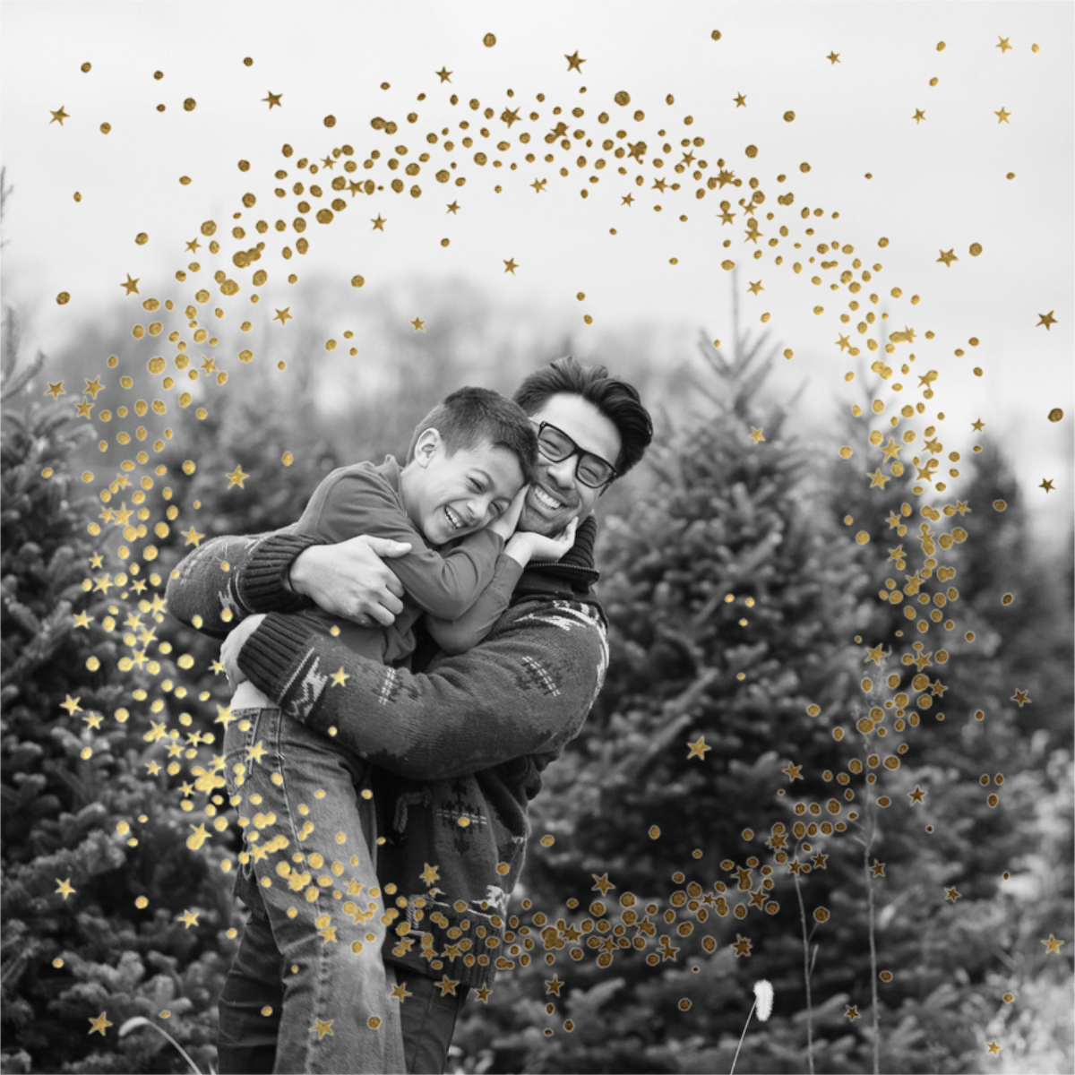 Wreath of Stars Photo - Paperless Post
