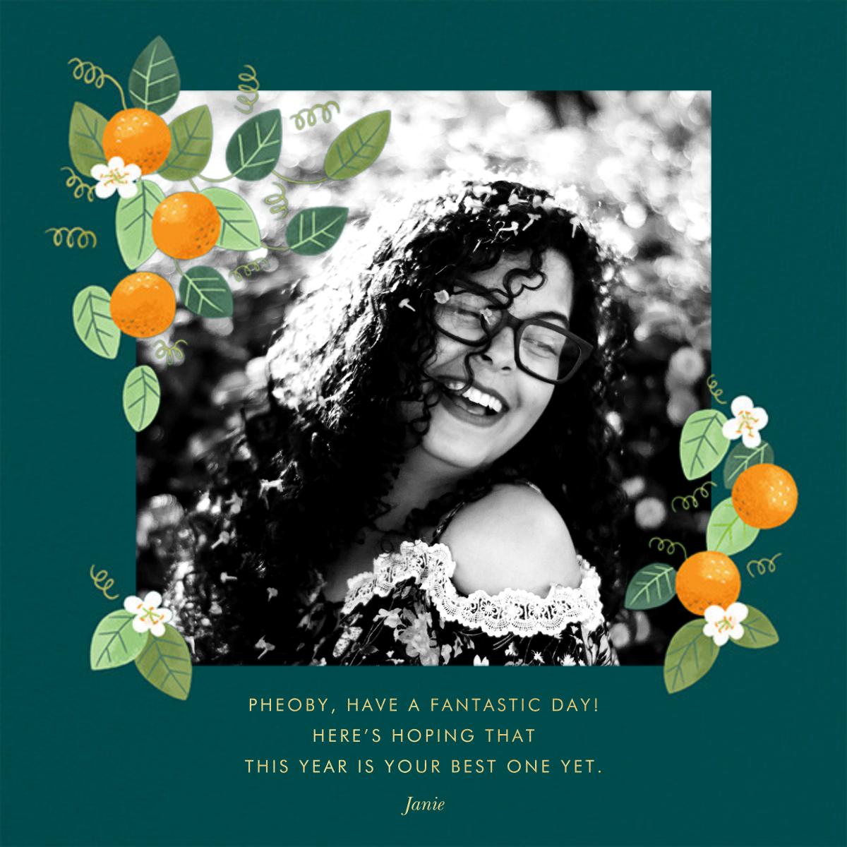 Orange Blossom Trim - Paperless Post