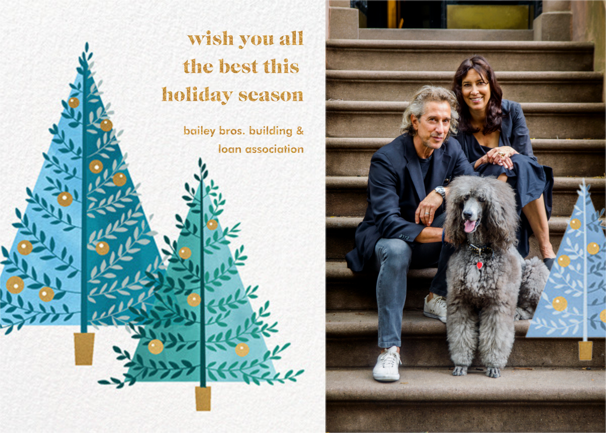 Tannenbaum Twins - Paperless Post - Business holiday cards