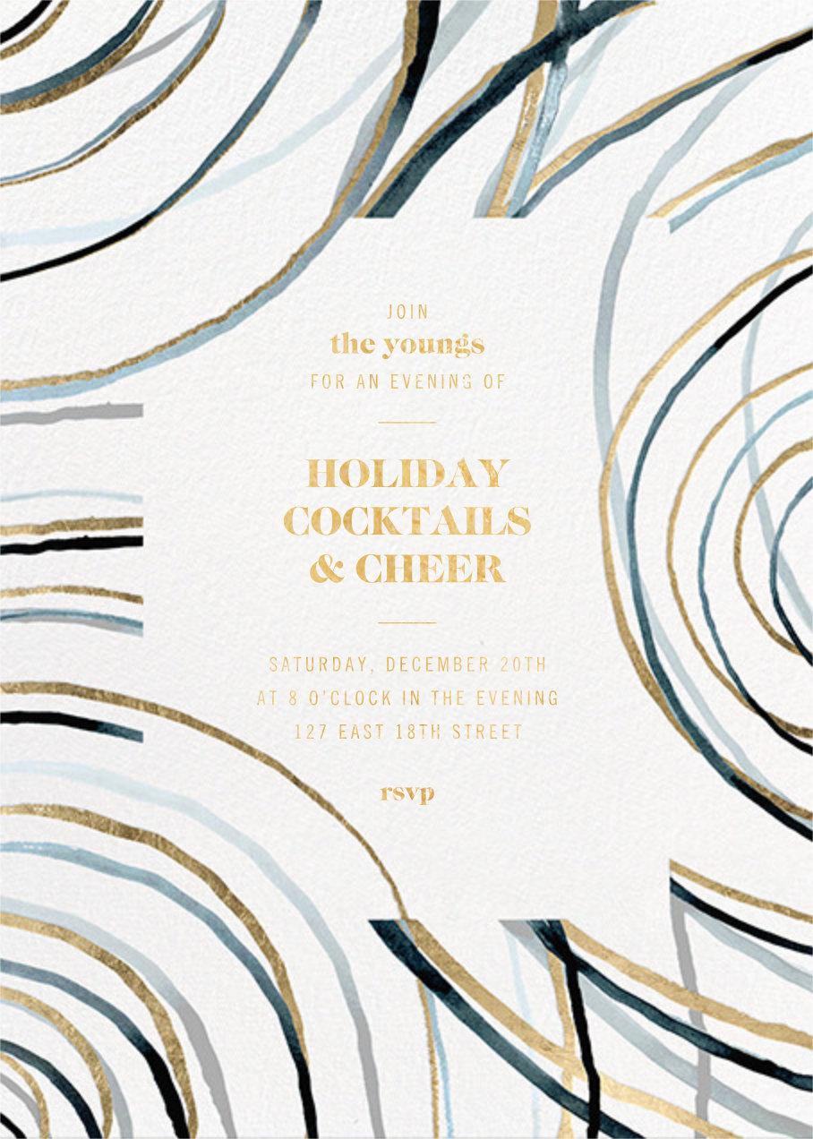 Nebula - Kelly Wearstler - Printable invitations