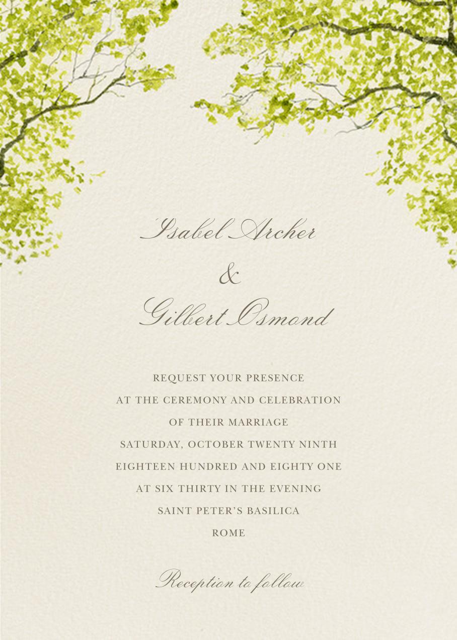 Spring Orchard - Felix Doolittle - Printable invitations