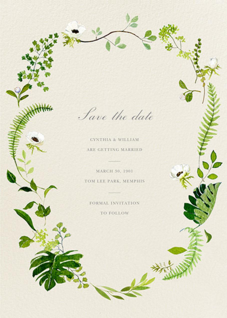 Naiad - Felix Doolittle - Save the date