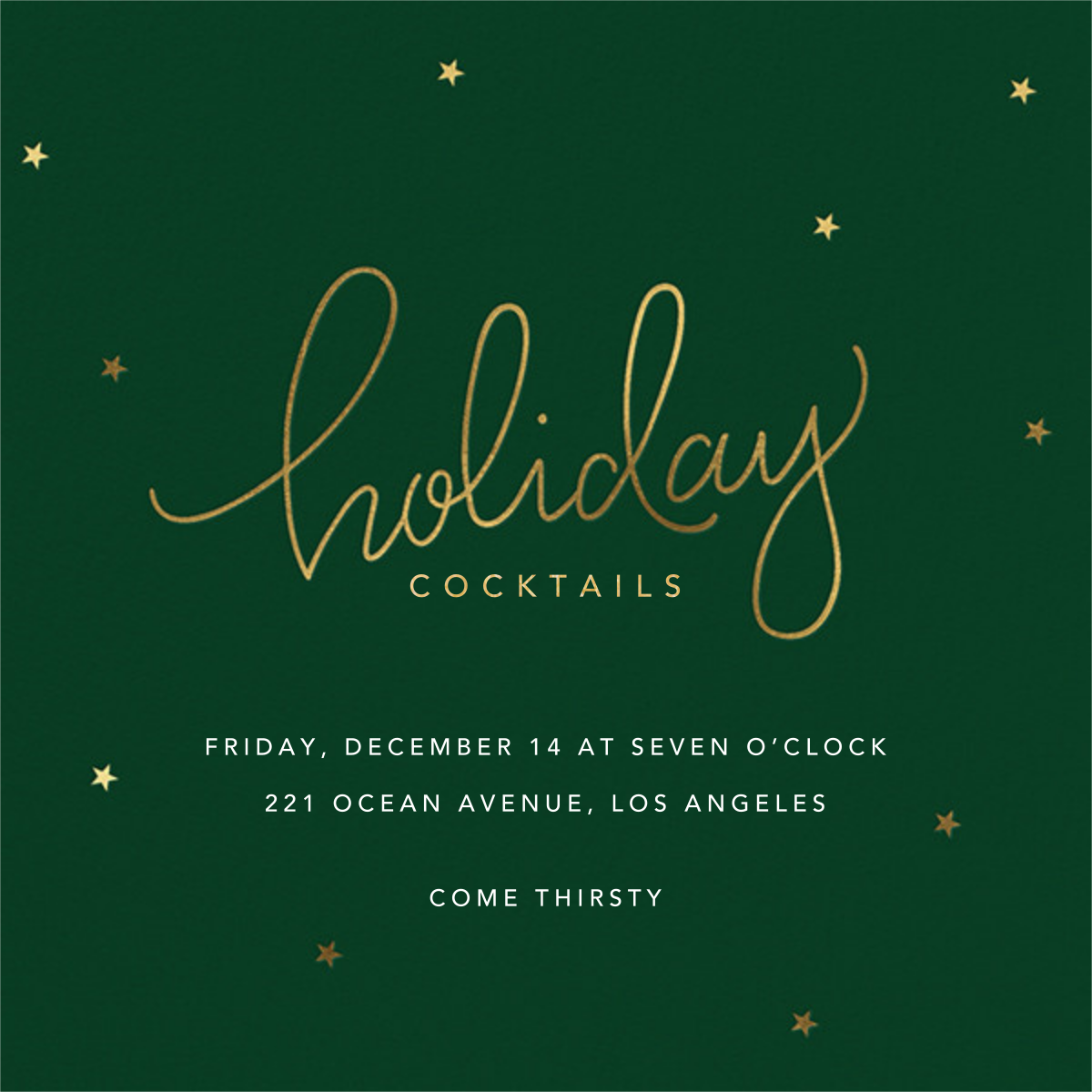 Holiday Curls - Sugar Paper - Holiday party