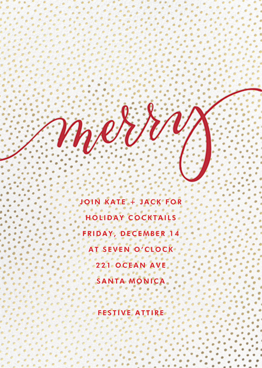Merry Flurry - Sugar Paper - Christmas party