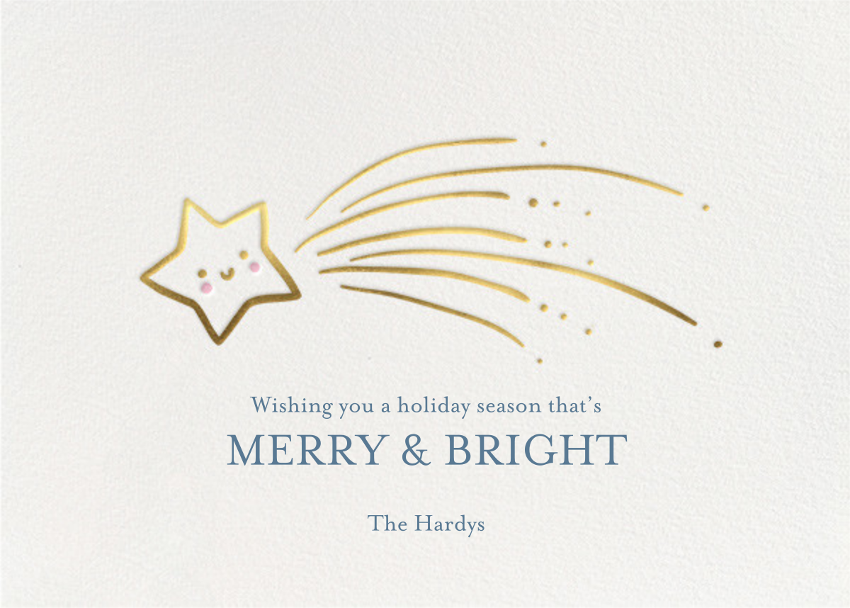 Star Treatment - Little Cube - Holiday cards