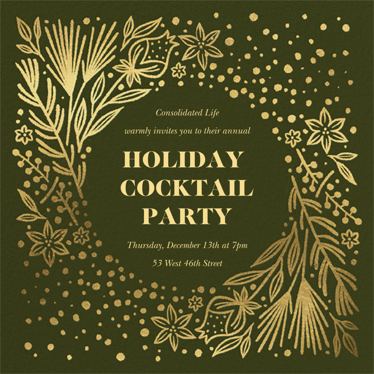 Wild Wild Winter - Paperless Post - Company holiday party
