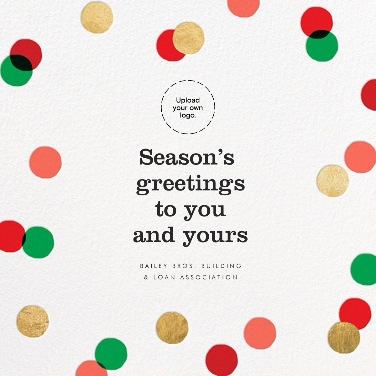 Carnaby - Red/Green - Paperless Post - Business holiday cards