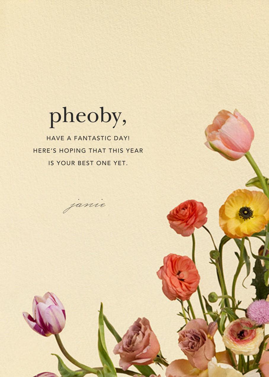 Prairial Photo - Putnam & Putnam - Birthday - card back