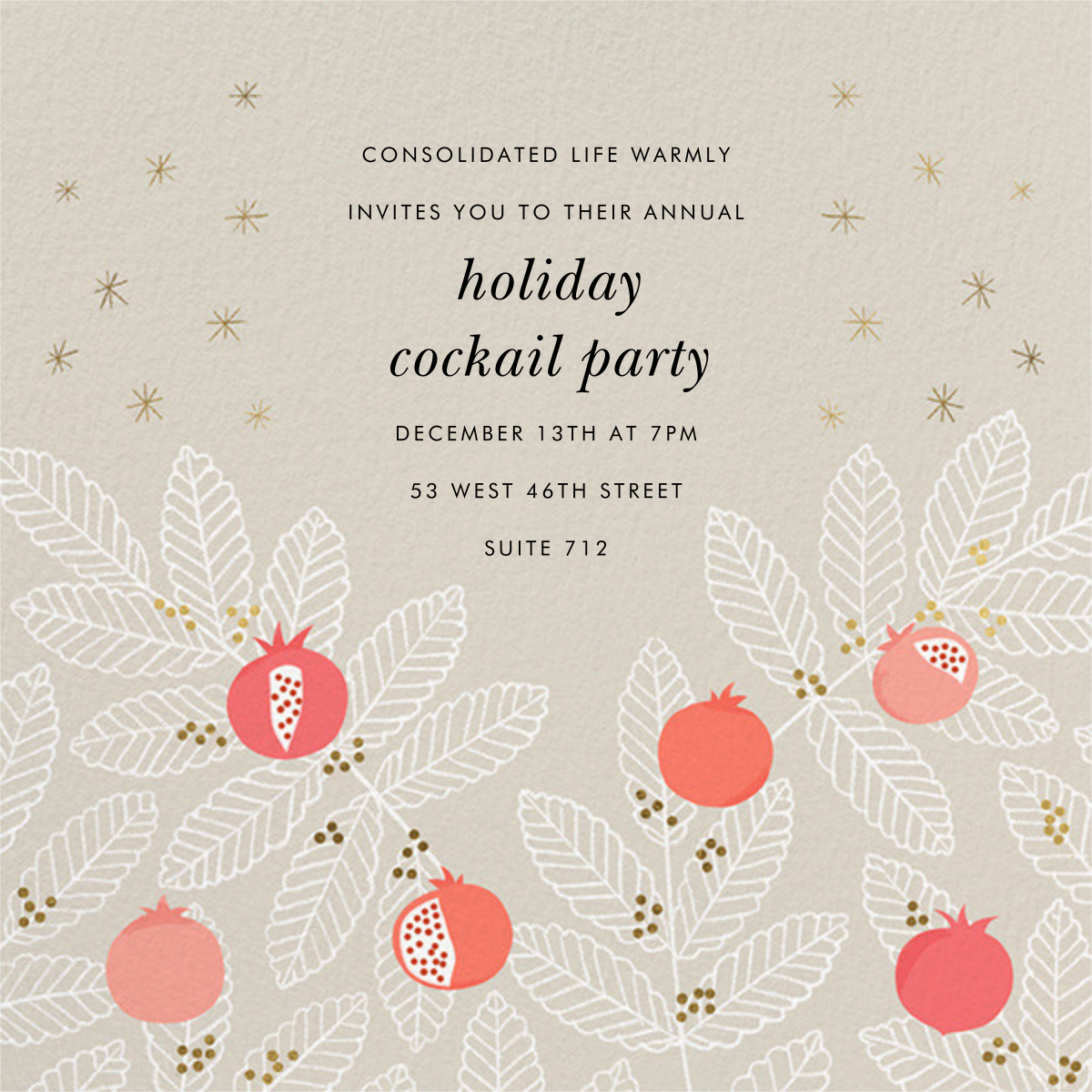 Pom Pom Club - Paperless Post - Corporate invitations