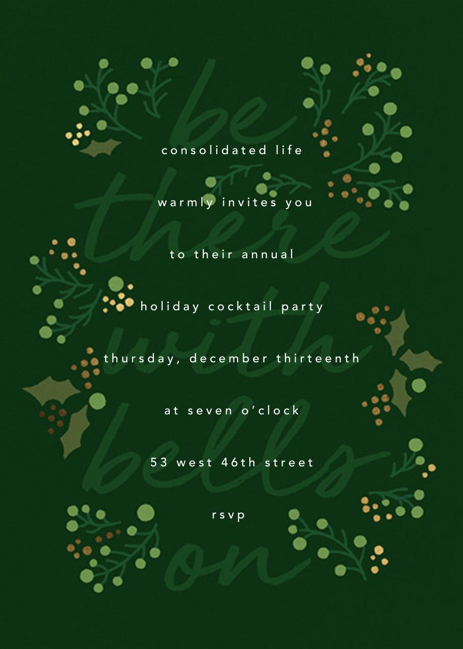Sleigh Belles - Paperless Post - Corporate invitations