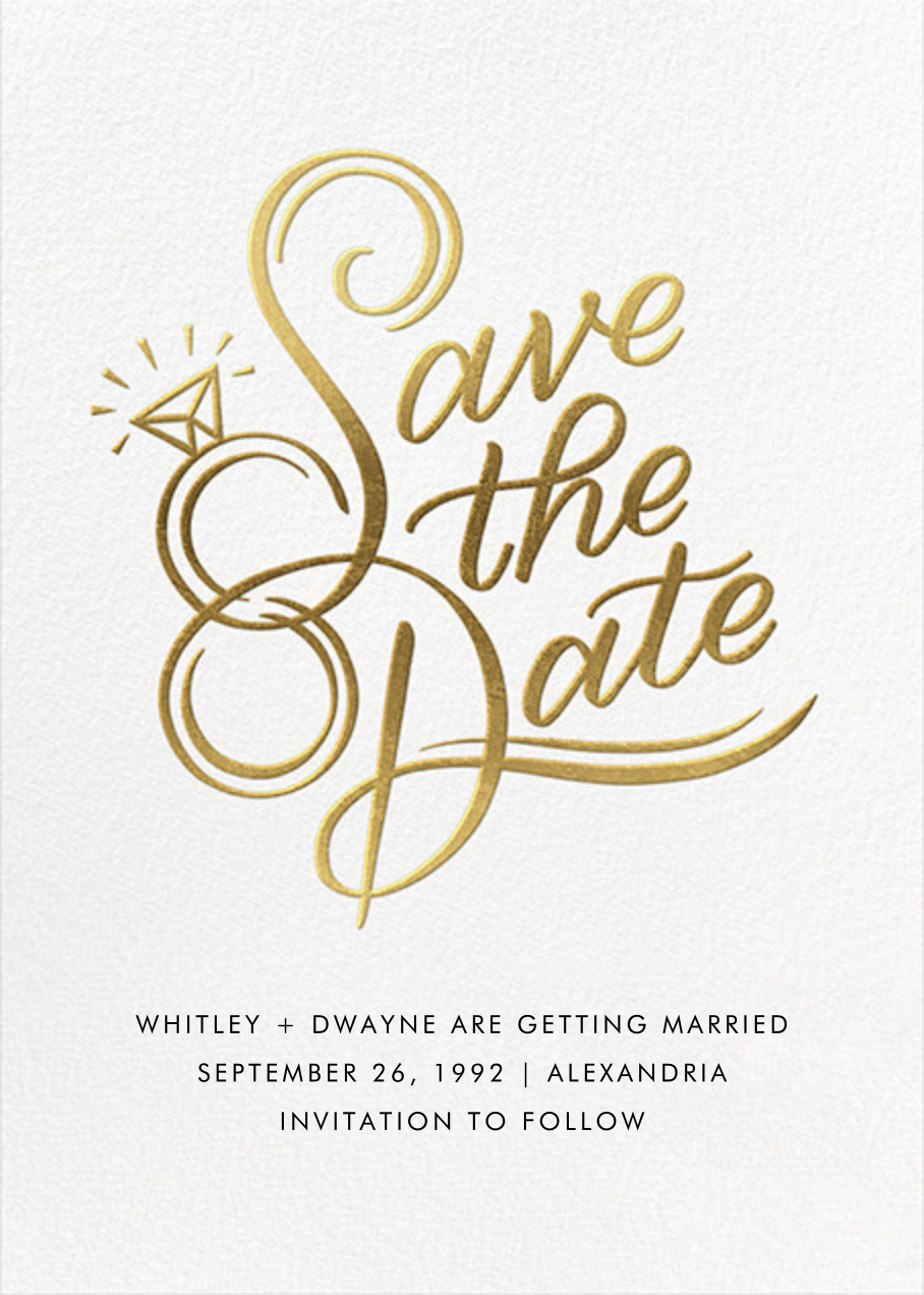 The Ringer - Paperless Post - Save the date
