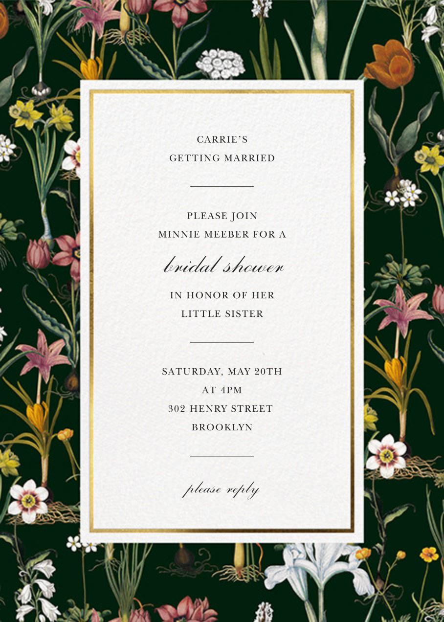 Ars Botanica - Oscar de la Renta - Bridal shower