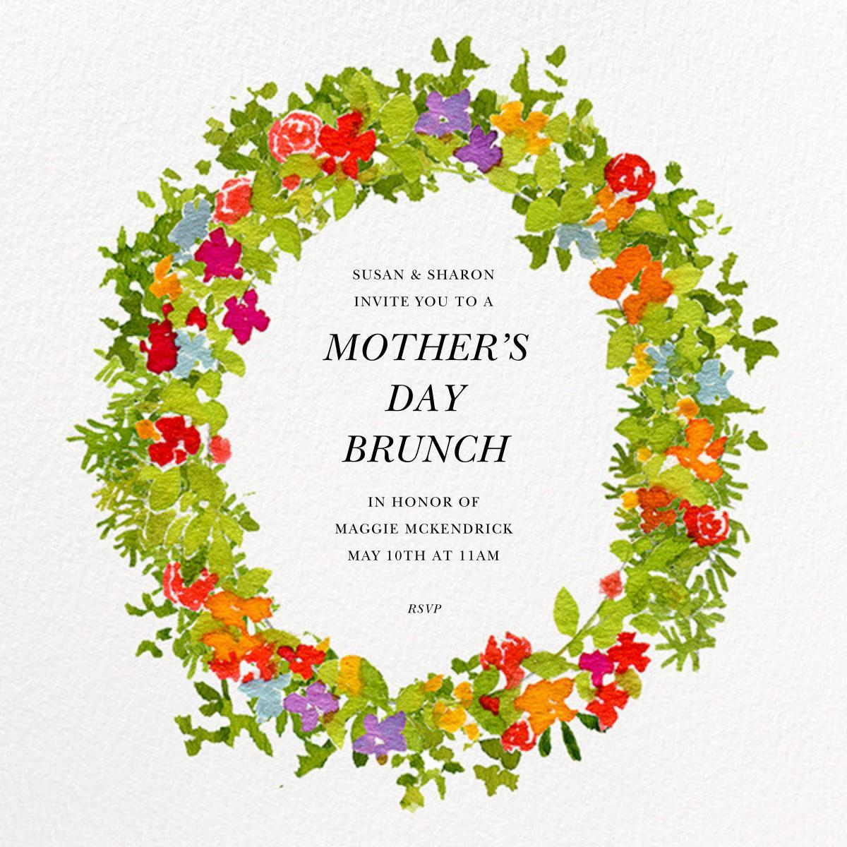 Spring Wreath - Felix Doolittle - Mother's Day