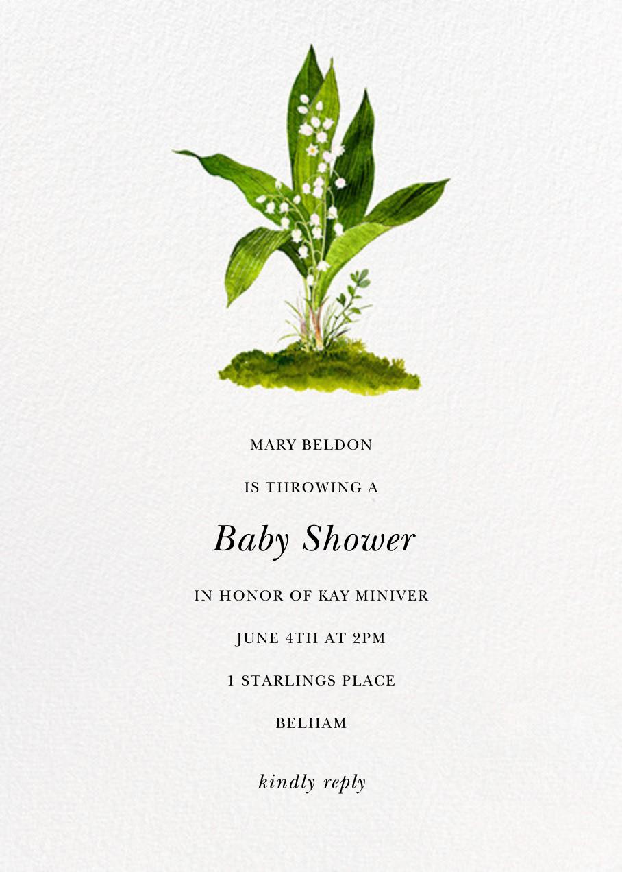 Muguet - Felix Doolittle - Baby shower