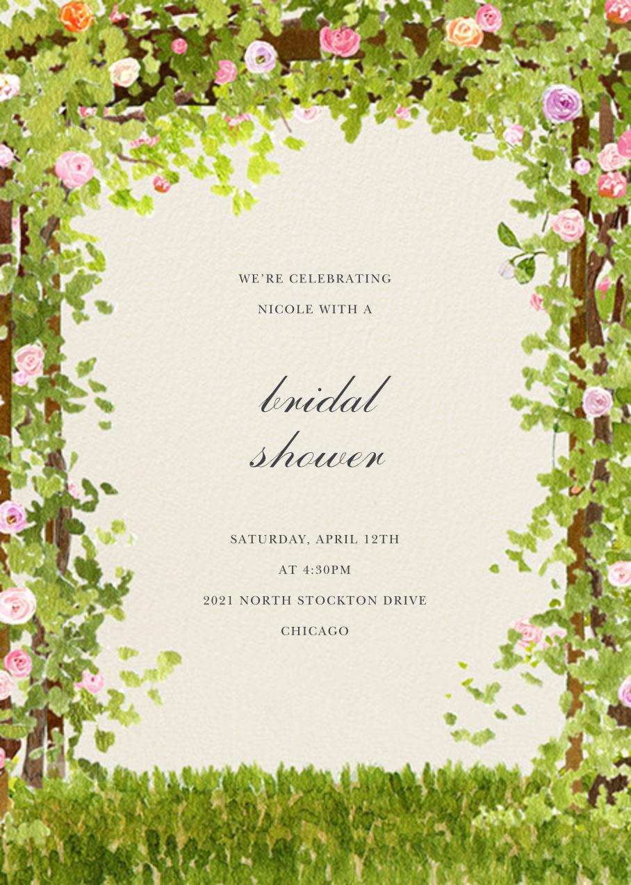 Spring Pergola - Felix Doolittle - Bridal shower