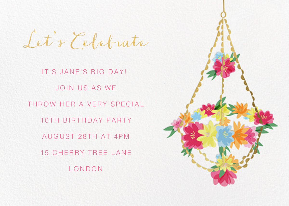 Blooming Chandelier - Meri Meri - Kids' birthday