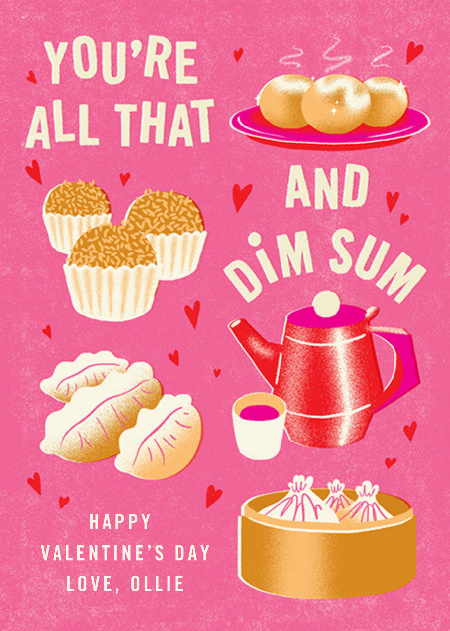 All that and Dim Sum - Paperless Post - Valentine's Day