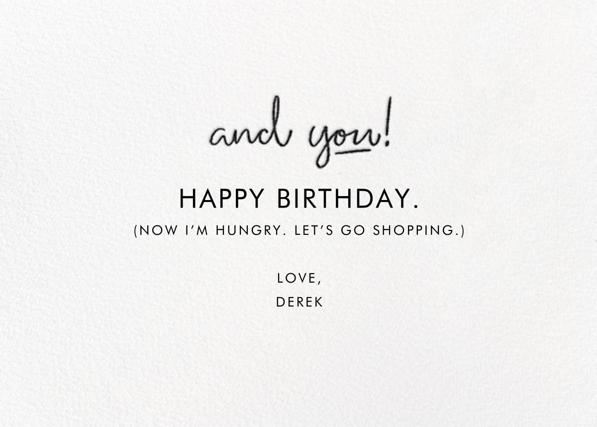 Aging Gracefully - Derek Blasberg - Funny birthday eCards - card back