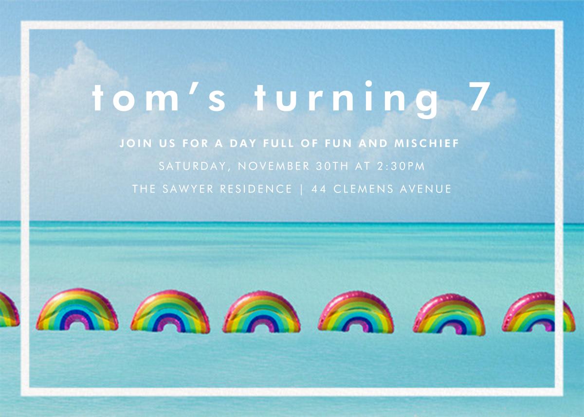 Rainbow Balloons - Gray Malin - Kids' birthday