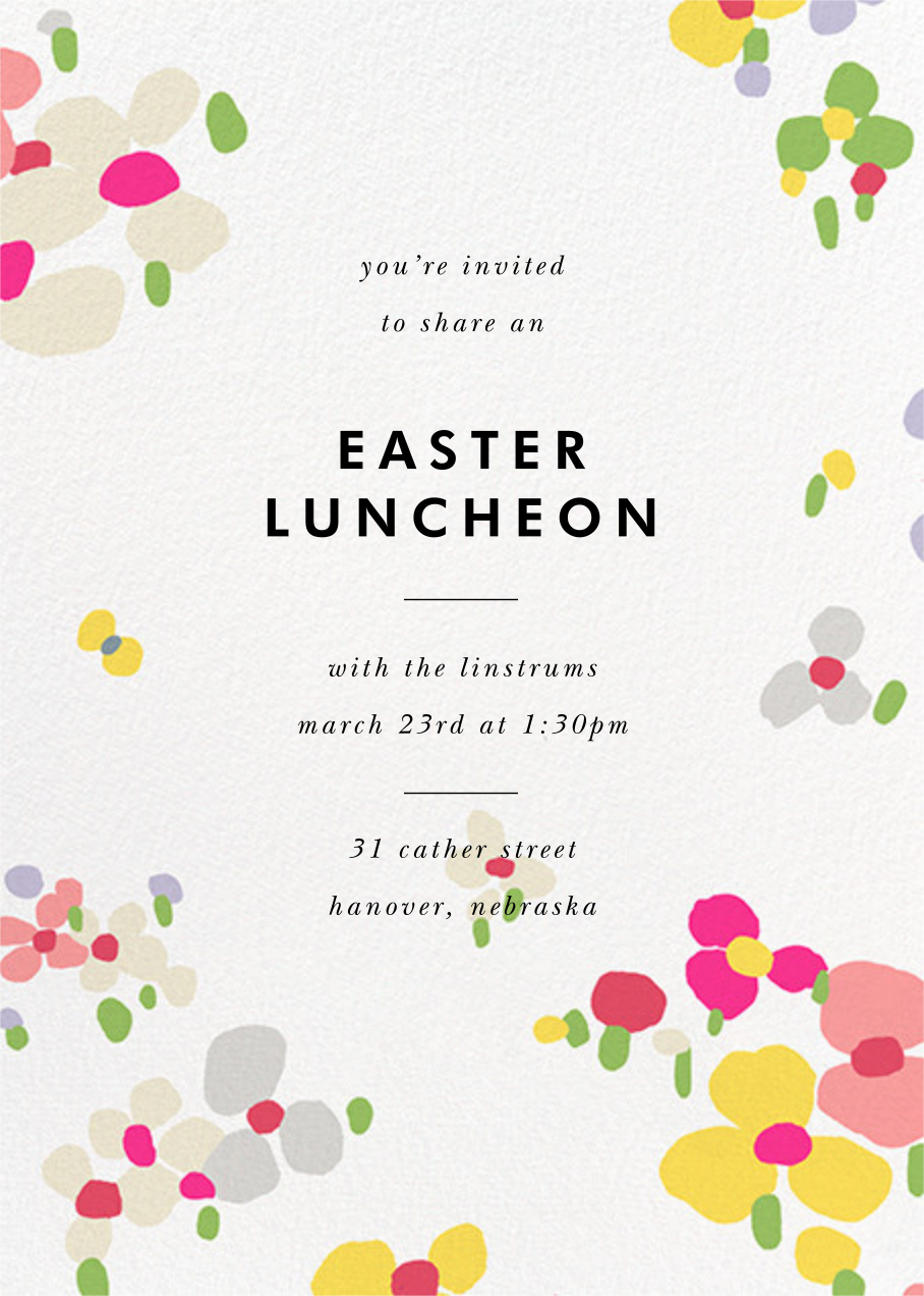 Fauvist Florals - kate spade new york - Easter