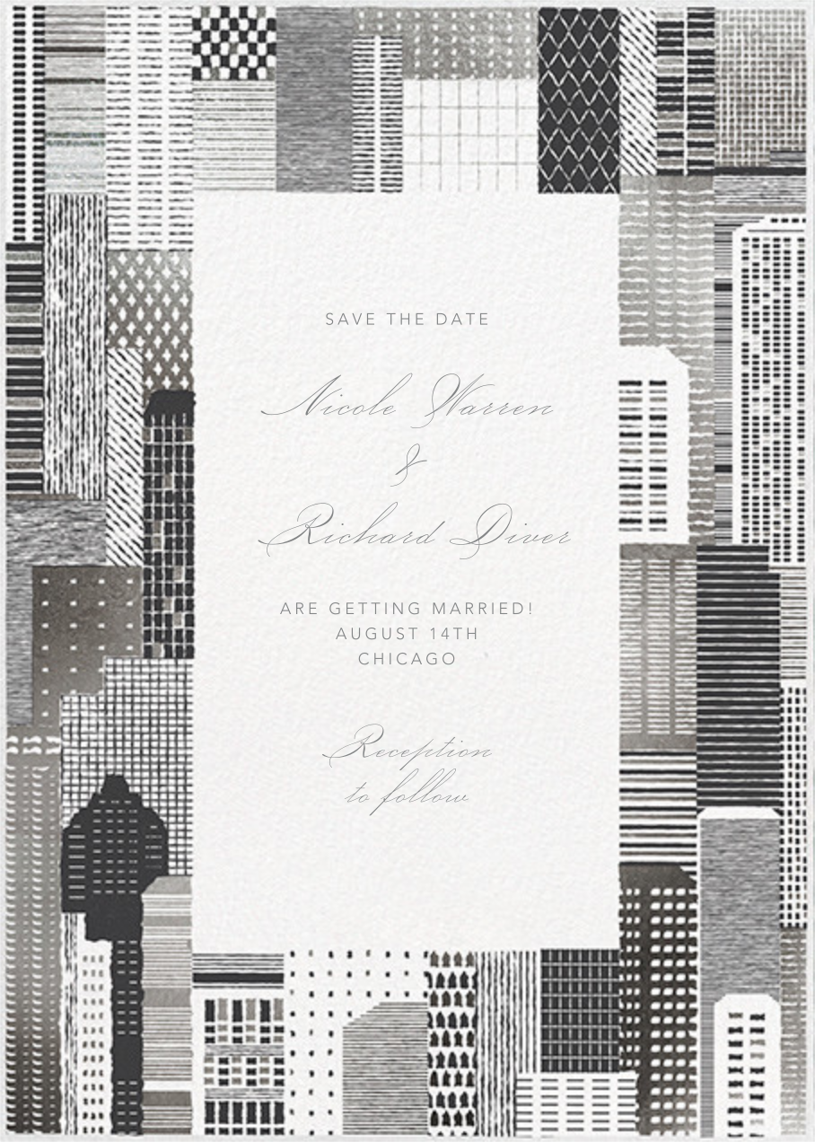 Lever House - Silver - Paperless Post - Save the date