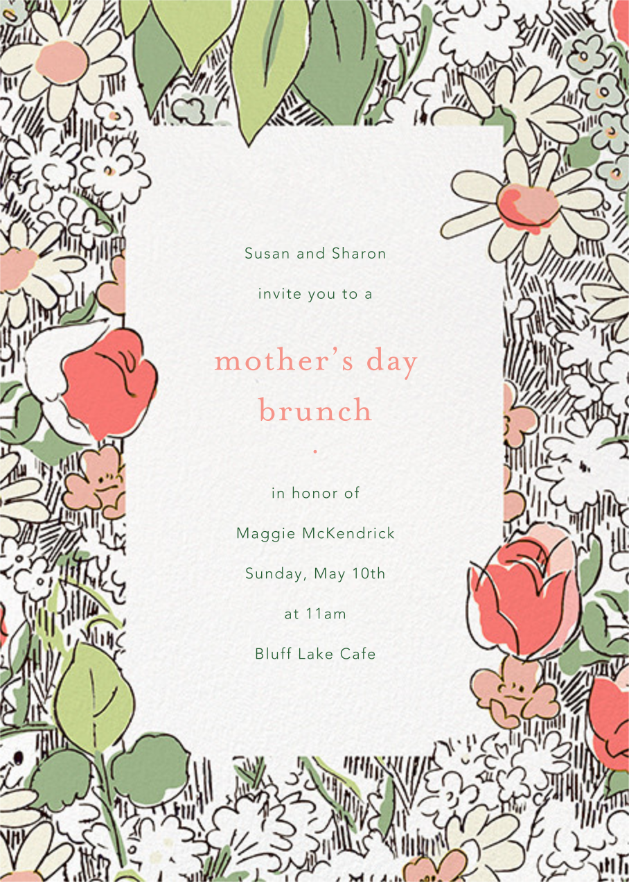 Petit Jardin - Coral - Anthropologie - Mother's Day