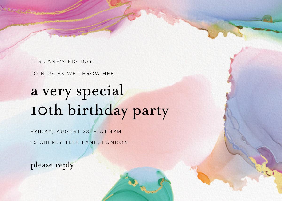 Gilded Rainbow - Ashley G - Kids' birthday