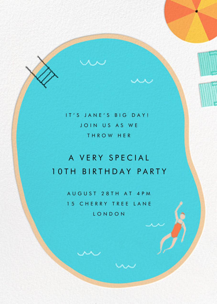 Maude's Pool - Fair - Paperless Post - Kids' birthday