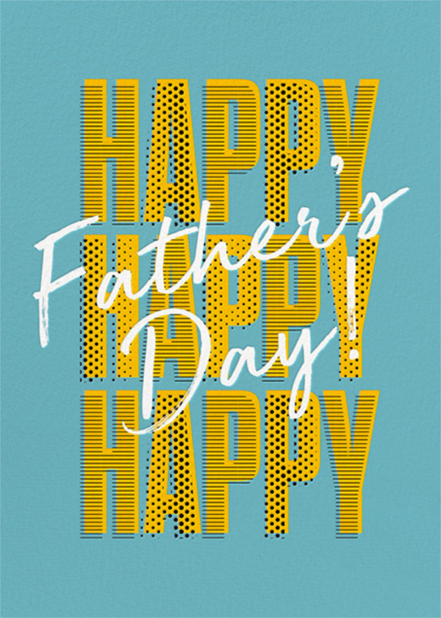 Earned Your Stripes - Bondi - Paperless Post - Father's Day