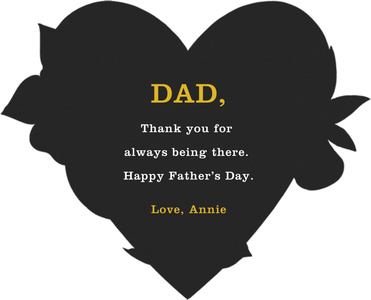 Dad to the Bone - Paperless Post - Father's Day - card back