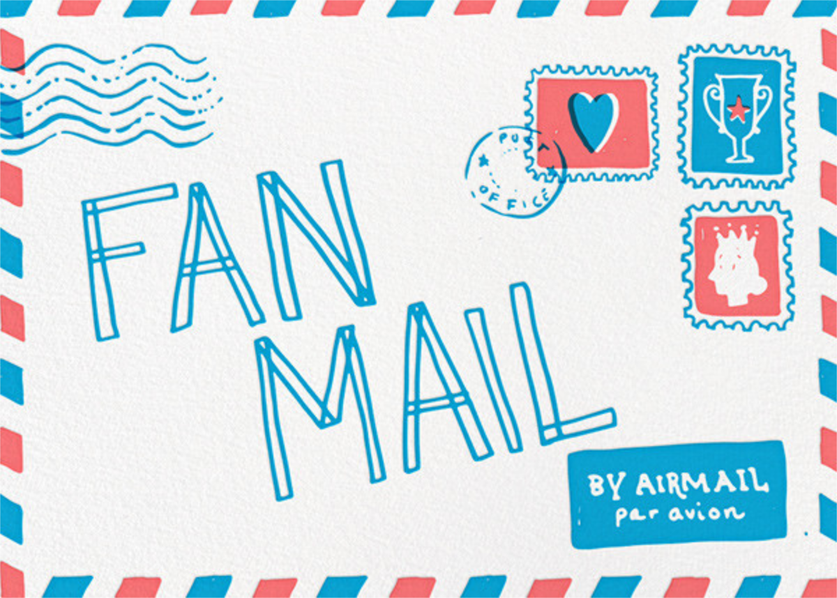 Fan Mail - Hello!Lucky - Valentine's Day