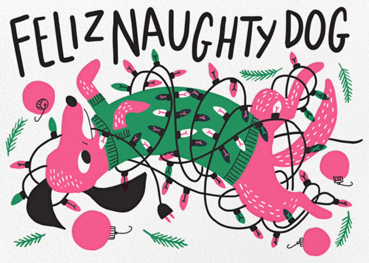 Feliz Naughty Dog - Hello!Lucky - Christmas