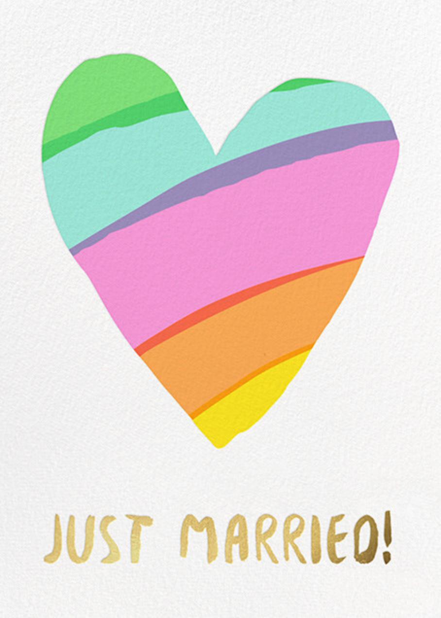 Rainbow Heart - Hello!Lucky - Congratulations