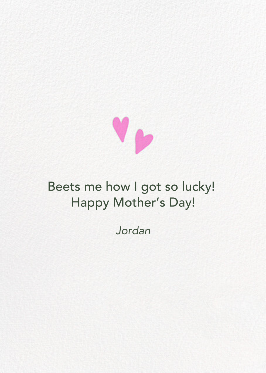 Root For Me - Hello!Lucky - Mother's Day - card back
