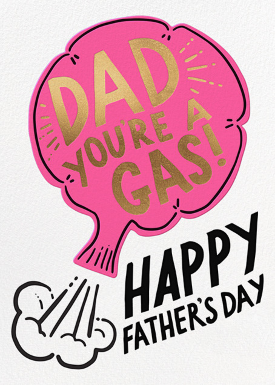 You're a Gas - Hello!Lucky - Father's Day