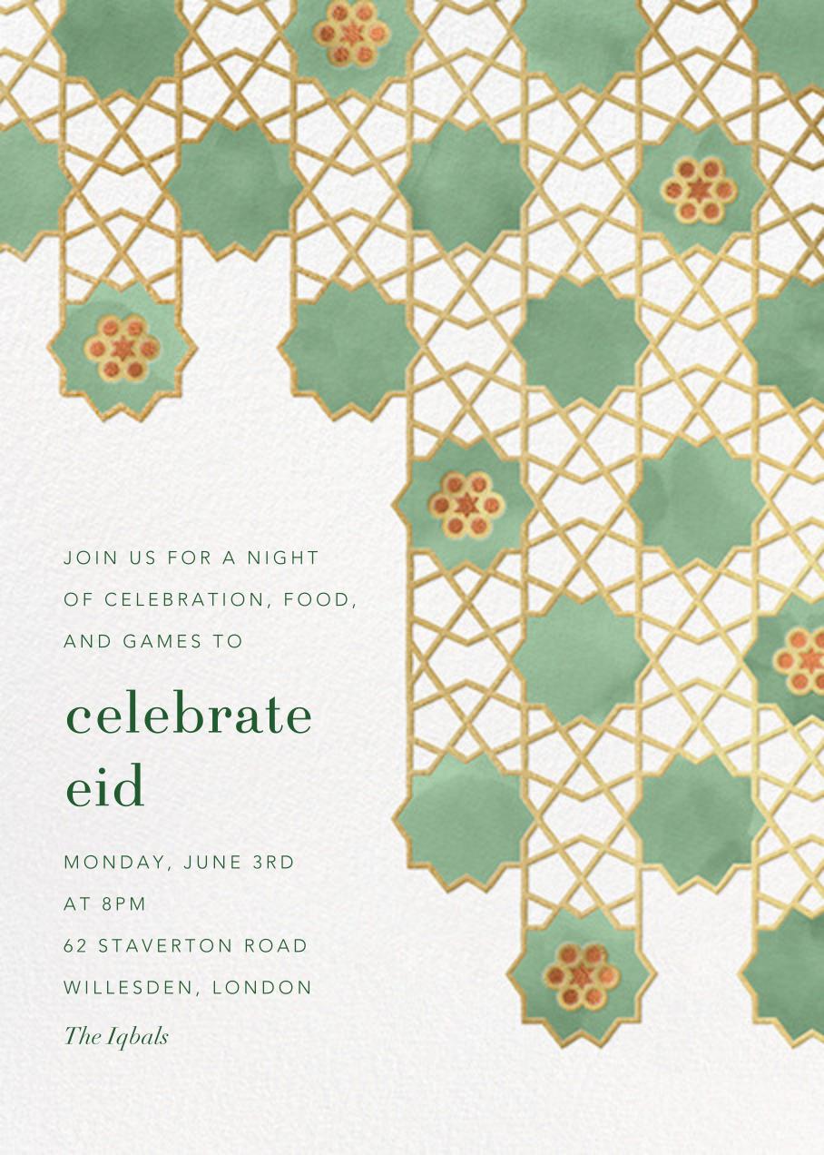 Happy Eid (Invitation) - Paperless Post - Ramadan