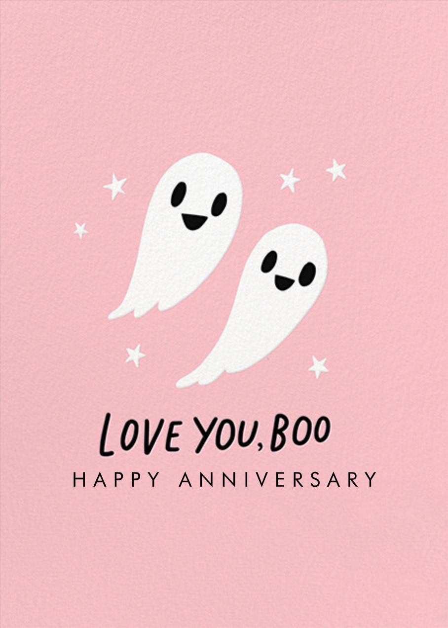 Love You Boo - Hello!Lucky - Anniversary