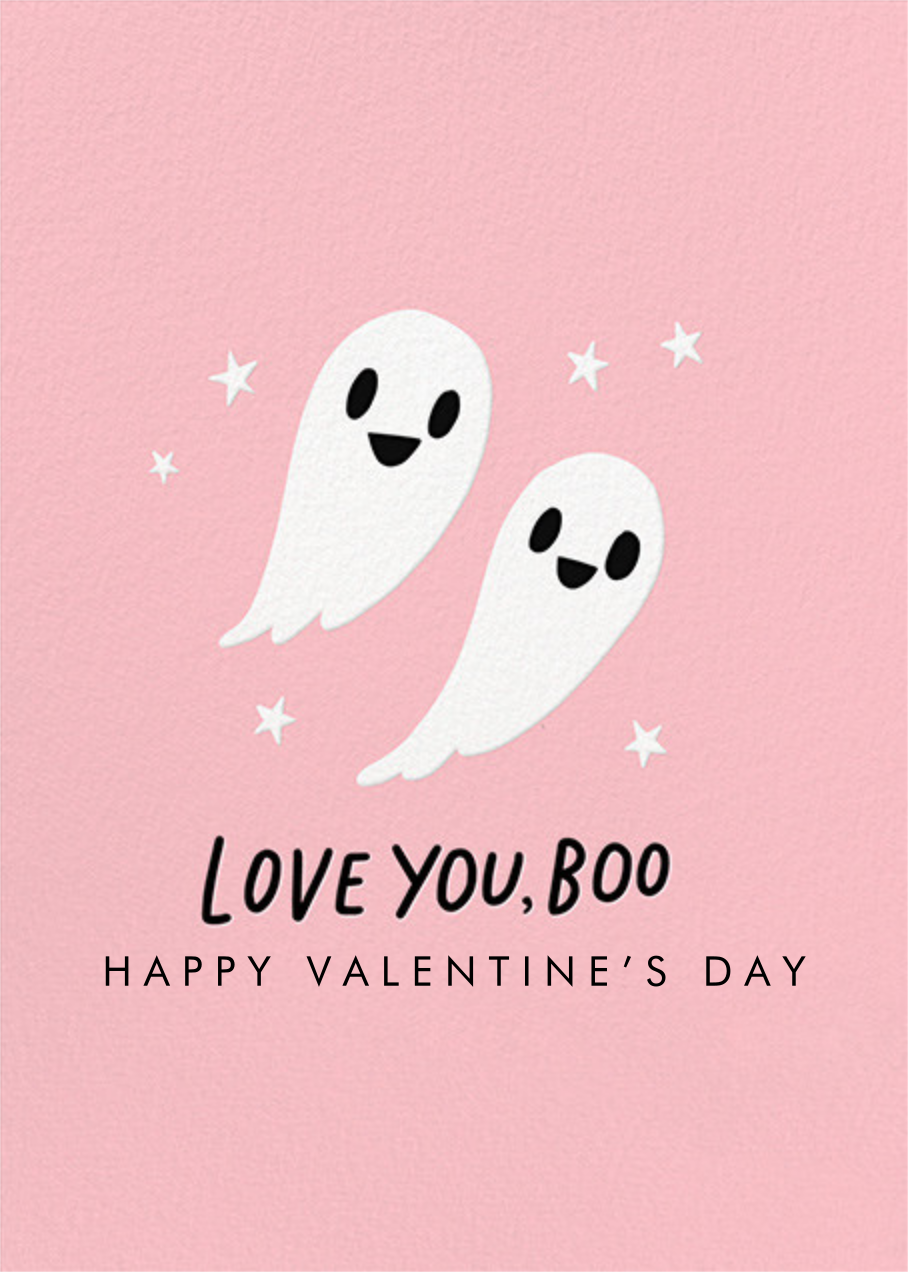 Love You Boo - Hello!Lucky - Valentine's Day