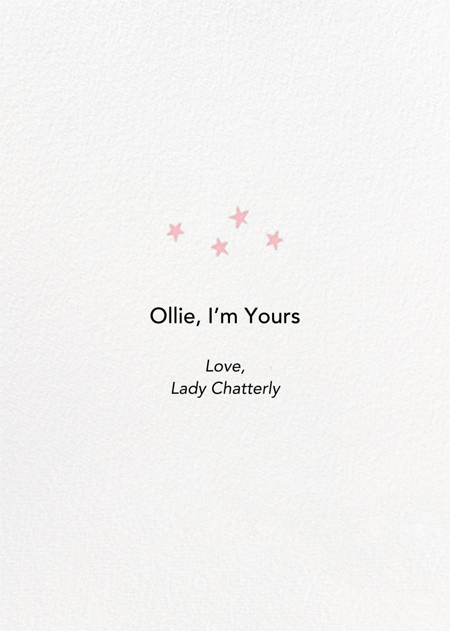 Love You Boo - Hello!Lucky - Valentine's Day - card back