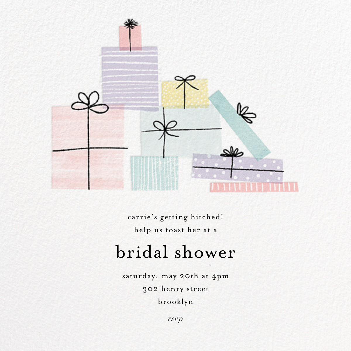 Shower Gifts - Paper Source - Bridal shower